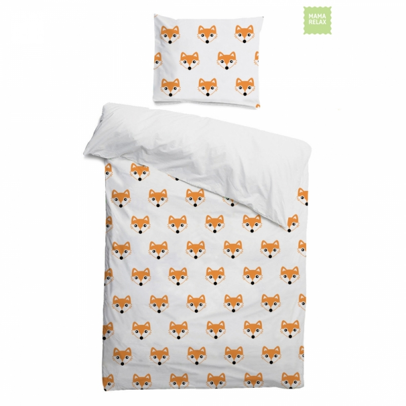 Комплект детского постельного белья Лисички