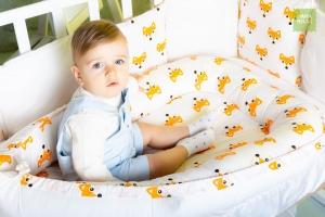 Гнездышко для новорожденного - Лисички